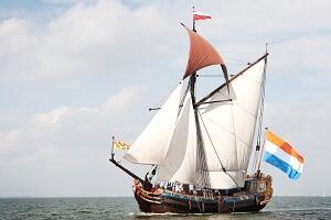 Statenjacht De Utrecht voltuig